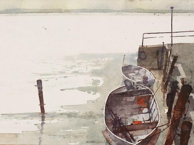 Fraueninsel Fischerboot
