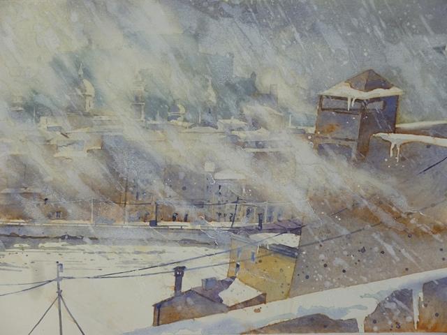 Salzburg Schneesturm