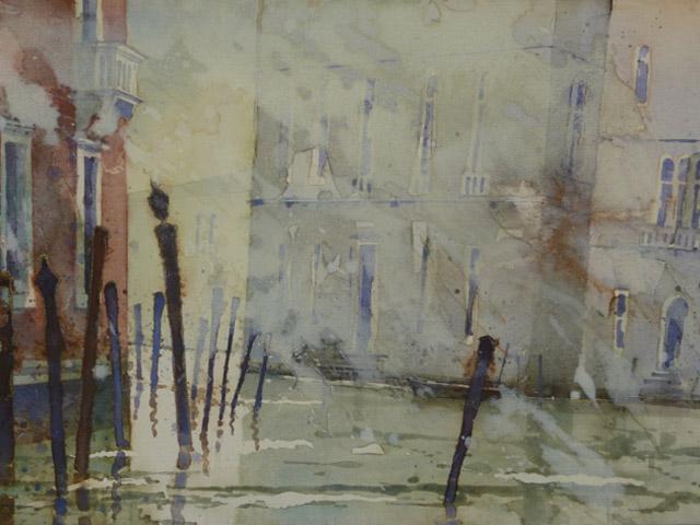 Venedig Canal Grande briccole 1