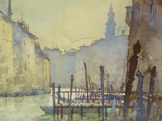 Venedig Canal Grande briccole 2