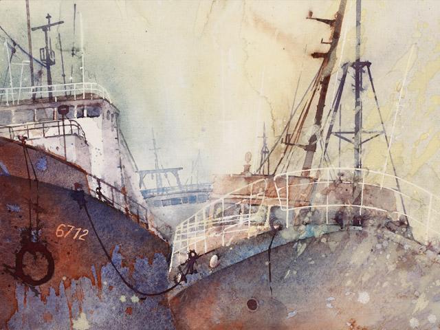 Sardinen Dampfer