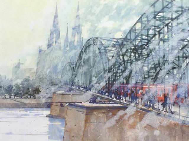Köln Hohenzoller Brücke