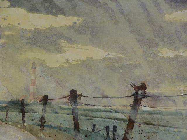 Eiderstedt Westerhever Leuchtturm