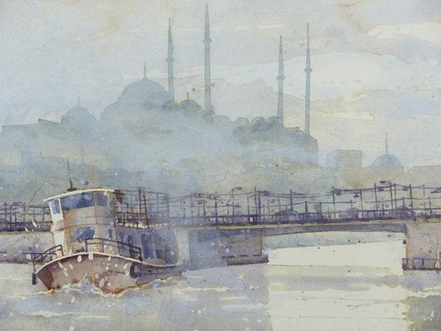Istanbul Galata Brücke