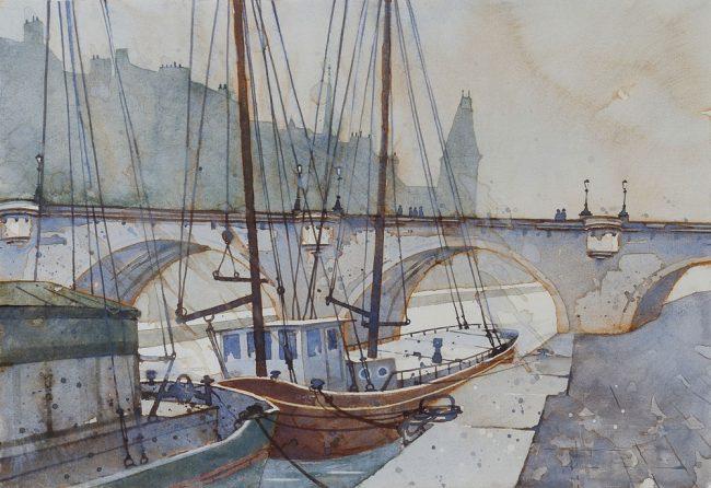 Paris Alte Schiffe