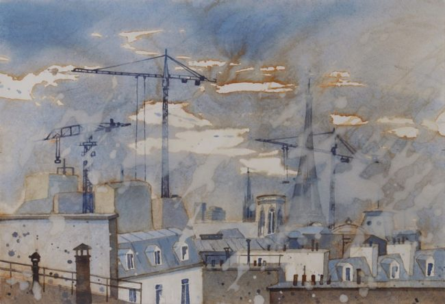 Paris Dachlandschaft