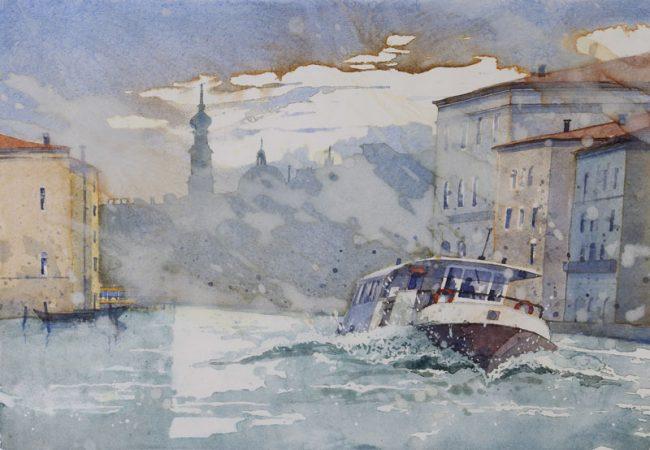 Venedig Canal Grande 2