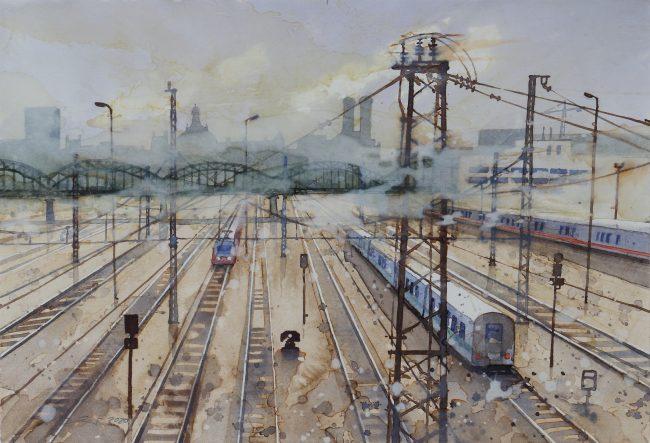 München Gleisanlage
